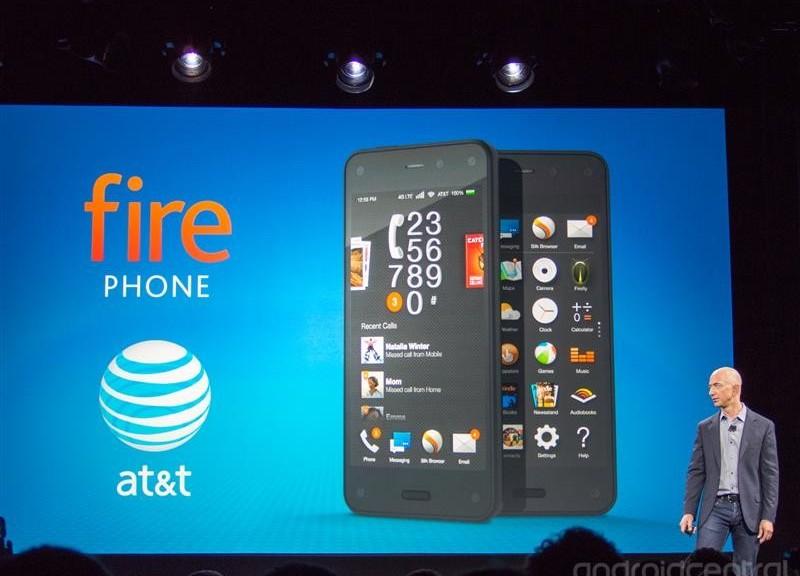 Amazon Fire Phone è lo smartphone 3D per l'e-commerce
